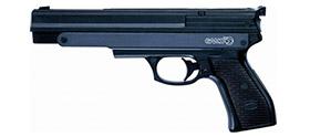 Pistola de pressão Gamo PR-45 – 4,5mm – Preta