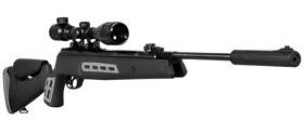 Carabina de pressão Hatsan HT 125 Sniper SAS – 5,5mm – Preto