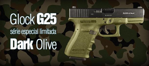 Pistola .380 Glock G25 Dark Olive