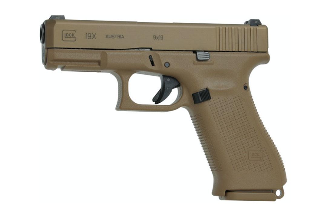 Pistola Glock 9mm G19 X