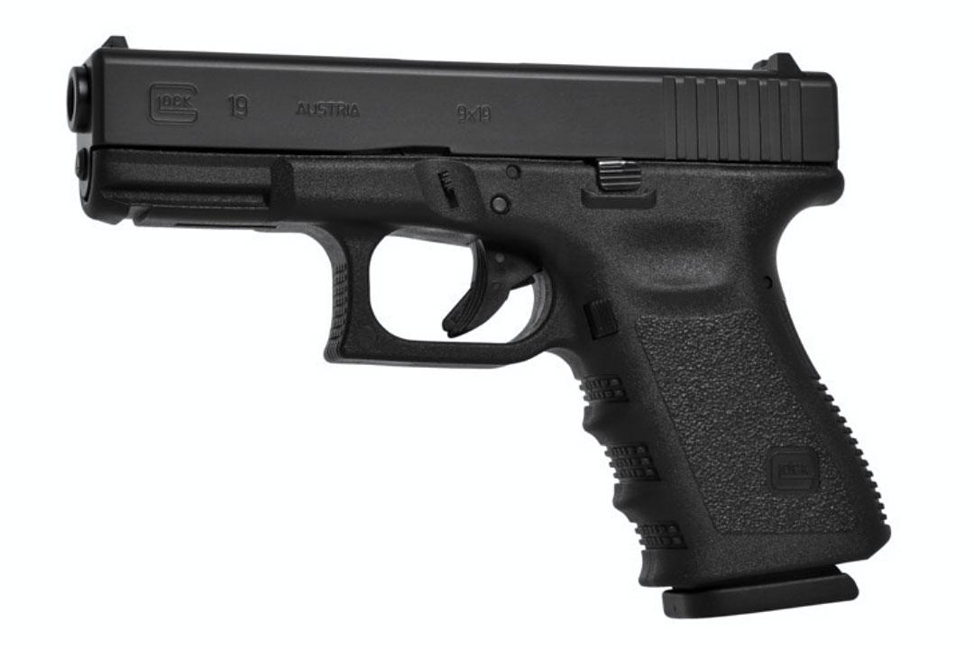 Pistola Glock 9mm G19 MOS