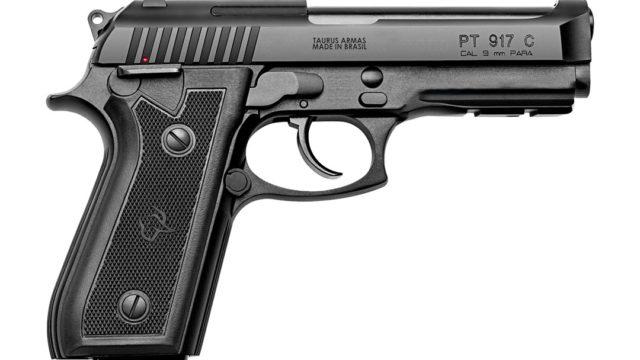 Pistola Taurus 9mm PT917